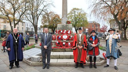 Exmouth Remembrance Sunday Picture: Exmouth Photo Services