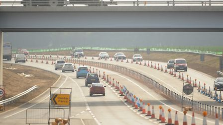 The A11 Elveden bypass which is now open. Picture: Denise Bradley