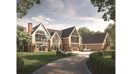 """Land with plans to builda """"beautiful"""" 5-bedroom dream home in Little Bealings is up for sale."""
