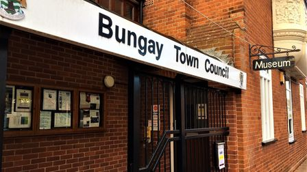 Bungay Town Council's office on Broad Street.