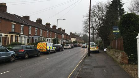 Forensics teams are continuing to investigate a fatal house fire in Unthank Road in Norwich.