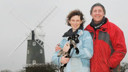 Steve and Elly Chalmers have put in a planning application to extend the workshops at Bircham Windmi