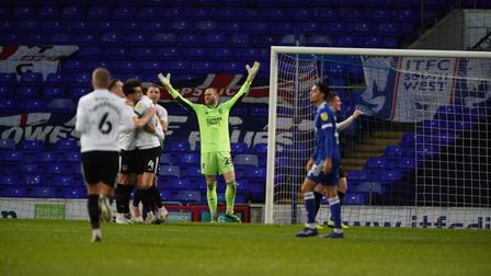 Ipswich Town were beaten by Portsmouth this afternoon.