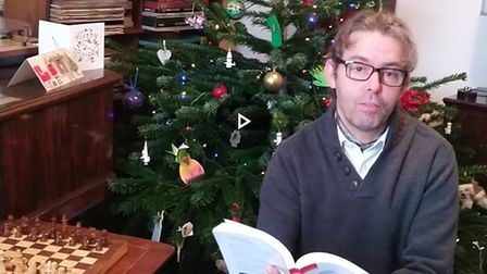 William Drew-Batty has been performing a daily though or poem throughout Advent.