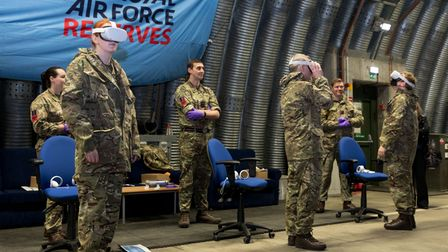 Visit to RAF Honington by members of the Armed Forces Parliamentary Scheme on the 10th December 2020