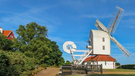 Thorpeness Windmill is a listed building at Thorpeness village, Suffolk, England.