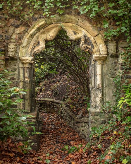 Archway leading to south entrance of Ketts Castle and Villa, in Thorpe Hamlet, which has this year been given listed status.