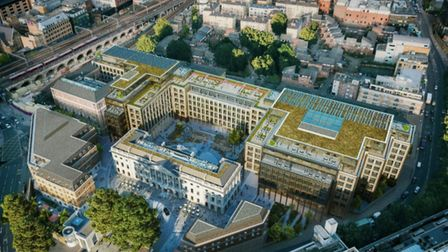 Chinese embassy planned for Royal Mint site