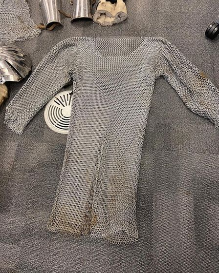 The gear was found on Monday