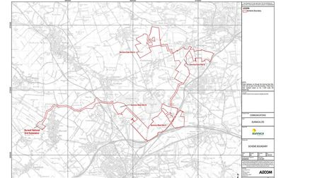 Sunnica Consultants is proposing to build a solar farm on the Cambridgeshire and Suffolk border. Picture: Sunnica Energy...
