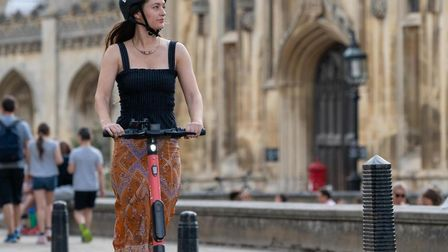 E-scooters getting a trial run in Cambridge. Mayor James Palmer believes they will revolutionise travel locally whilst...