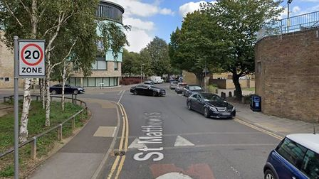 Police in Cambridge used poetry to report an incident in the city. Picture: Google Maps