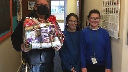 Pupils at Thomas Eaton Primary Academy in Wimblington is helping their community this Christmas. Picture: Supplied