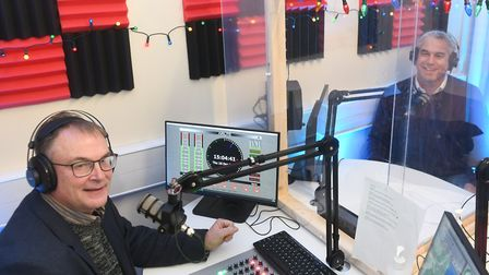 Steve Barclay, MP for noth east Cambridgeshire, visited Fenland Youth Radio. He presented them with a cheque for £9,638...