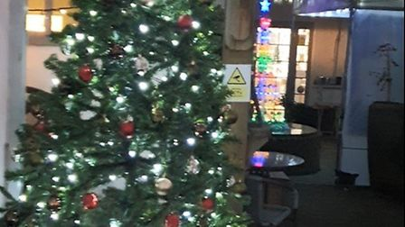Christmas cheer at The Maypole in Thaxted. Picture: SAM DUNBAR/ VINCE SALTER