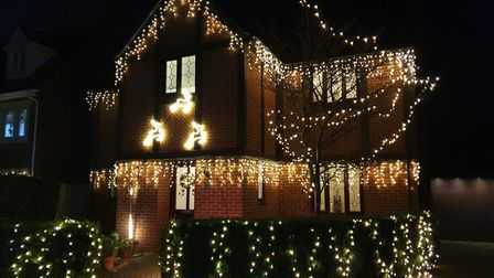 This festive home is at Woodlands Walk, Great Dunmow. Picture: JAYNE EAST