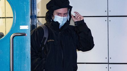 Andrew Wheeler leaves court.Crown Court, PeterboroughWednesday 09 December 2020.Picture by Terry Harris.