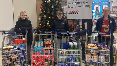 Harry Hiskett and Serge Lambert completed their duathlon challenge to raise funds for Mind and March Food Bank last month,...