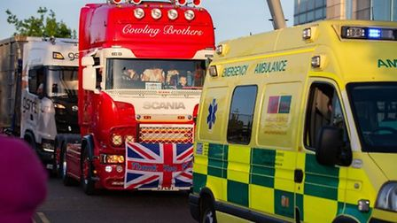 Organisers of a Christmas charity truck convoy planned to begin in Chatteris have been threatened with £10,000 fines.