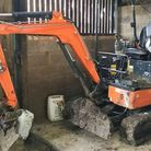 A mini digger that was stolen in Fenland was found and returned to its owner in less than 24 hours. Picture: POLICING FENLAND