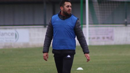 Erkan Okay (pictured) believes it is most likely Soham Town Rangers will return to Isthmian League North action in the new...