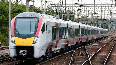 Greater Anglia Intercity train at Colchester