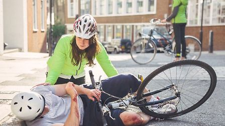 St John Ambulance has launched a free app for cycling first aid.
