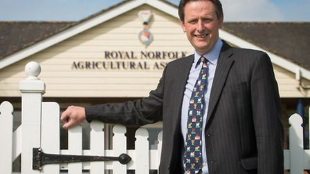 Director Julian Taylor preparing for this year's Royal Norfolk Show. Photo: Bill Smith for EDP Norfo