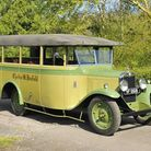 The 1929 Chevrolet LQ International 14-seater coach. The coachwork was carried out by Bush & Twiddy,