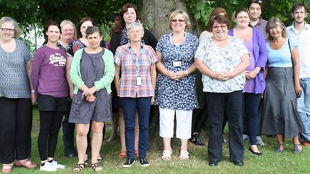 The first peer support workers at Norfolk and Suffolk NHS Foundation Trust