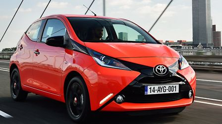 Second-generation Toyota Aygo is a city car that has been designed to be fun and playful to attract