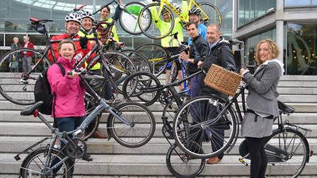 The launch of the Sky Ride Local programme, which will mean people can take free guided cycle rides