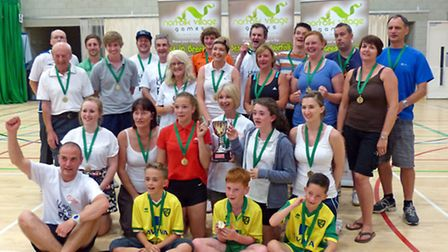 The Diss and Roydon team that won the large village category in last year's Norfolk Village Games