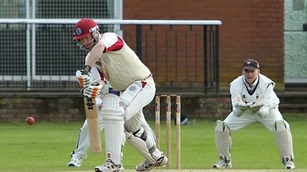 Head of Young Norfolk Sports Academy Richard Sims playing cricket.
