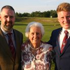From left to right Stuart Craske, Molly Johns and Ryan Clarke.