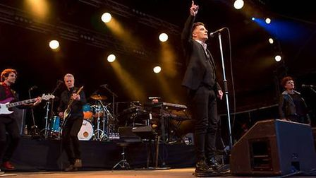 Deacon Blue at Thetford Forest, July 2014