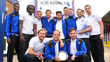 Lowestoft Town parade to celebrate promotion to Conference North.