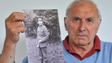 Dick Rayner's granddad, Alan William Stedman, fought in WW1 and died in a hospital in Liverpool from