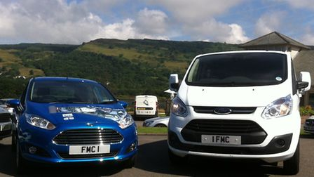 Success on a plate the Ford Fiesta, left, is now the UKs best-selling car ever while the Transit is