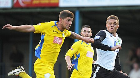 Ross Watson, left, is expected to return to Lynn's squad for their trip to Dereham this evening. Pi