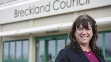 New Breckland Council Chief Exec Anna Graves. Picture: Matthew Usher.