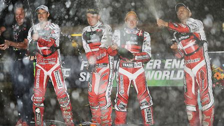 The 2013 Speedway World Cup at the Norfolk Arena. Picture: Ian Burt
