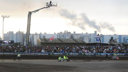The Speedway World Cup at the Norfolk Arena. Picture: Ian Burt