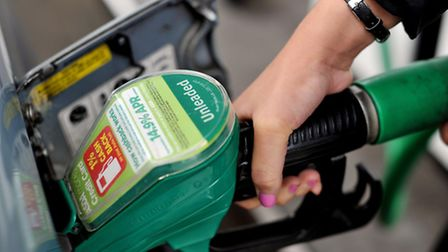 Library picture of petrol pump. Nick Ansell/PA Wire