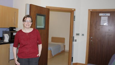 Matron Jenny Thurston in a 136 suite.