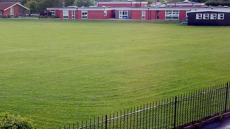 Whitefriars School, where Taylor taught in 2004.