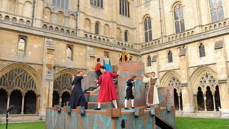 The Shakespeare Festival drew crowds to Norwich Cathedral. The rest of the region reported a boost i