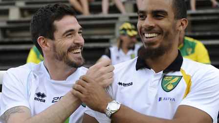 Lewis Grabban is confident he can form a deadly partnership with Kyle Lafferty. Picture by Stefano G