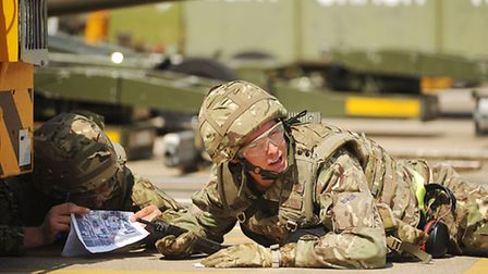 Number 31 Squadron from RAF Marham are currently participating in a week long exercise at the base,
