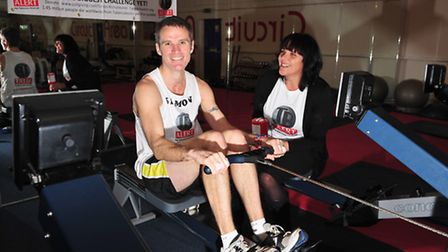 Simon Richardson Sponsored Row for Tuberculosis (TB). His mission was to row the length of the Engl